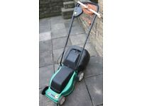 LAWNMOWER Electric ROTARY Lawnmower comes with GRASSBOX and CABLE TIDY. Ideal for Small/Med Lawn