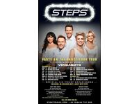 Steps Concert Ticket, Thursday 16th November, Glasgow SSE Hydro