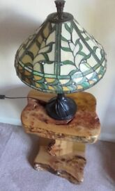 green tiffany lamp