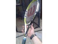 Wilson pro open racket