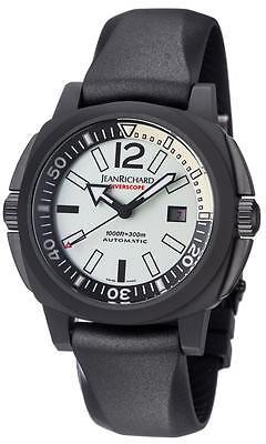 JeanRichard Diverscope Mens watch 60130-28-80a-ac6d Brand New List $9,900-