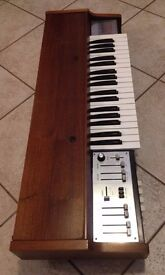 FARFISA SYNTORCHESTRA 'wooden version' Vintage Analog Very Rare Synthesizer