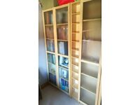 Billy / Oxberg bookcases and CD stand