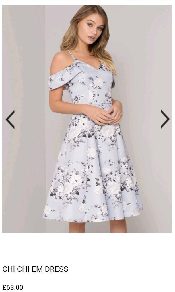 3e54e0e3ef Beautiful wedding guest outfit. Chi Chi London dress