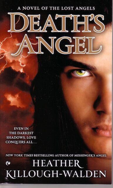 Heather Killough-Walden  Death's Angel   Lost Angels Paranormal Romance  Pbk NEW