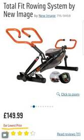 Exercise Rowing Machine - NEW - 15+ SOLD