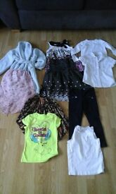 girls bundle, size: 4-5 years old, 10 items