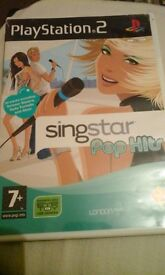 Singstar game for ps2