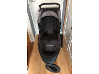 Baby Jogger Summit X3 single pushchair black/grey