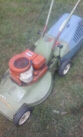hayter petrol mower