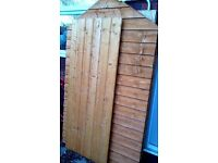Brand New Unused Wooden Garden Shed 6 x 4