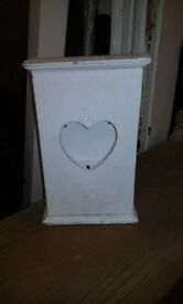 Small key cabinet shabby chic