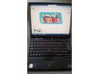 Windows 7 Thinkpad Laptop with Office 2010