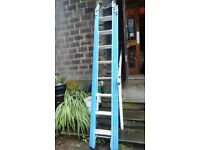 Brand new fibre glass ladders made by lyte