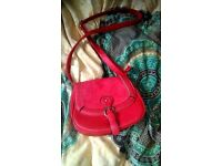 Red woman's bag (eco-leather)