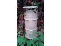 Reclaimed Victorian Buff Cannon Chimney Pots x 4 - £25 each