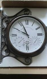 Outdoor Garden Clock