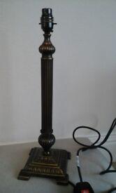 Lamp Base - Metal , heavy