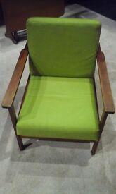 Green Armchairs