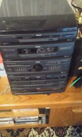 Akai sound system- £30