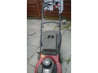 mountfield petrol lawnmower and strimmer