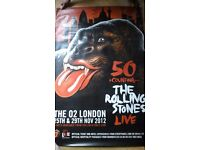 Rolling Stones Poster - Roadies/Backstage VIPs/Stagehands Only