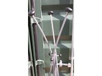 Modern Coat and Hat Stand with 9 Hooks.