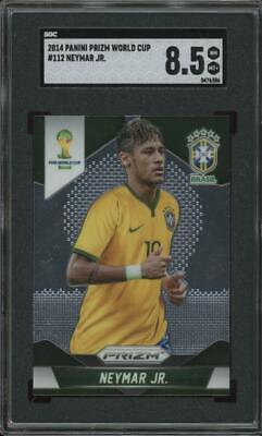 2014 Panini Prizm World Cup #112 Neymar Jr Mint+ SGC 8.5