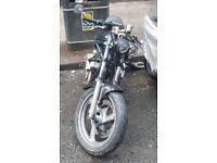 Yamaha Diversion Naked Motorcycle (Streetfighter / Cafe Style Conversion - XJ600 - 600cc)
