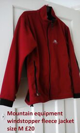 mountain equipment windstopper fleece
