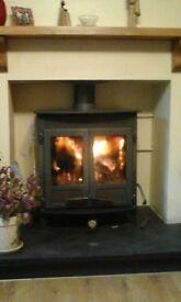 Large stove