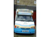 Ice cream van reasonable price