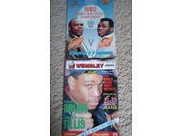Boxing programmes