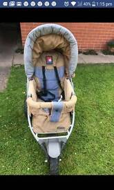 Pushchair and carry cot