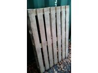 Wooden Pallets - Various Sizes - with Delivery. £4 each.