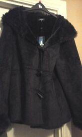 Maine suede coat