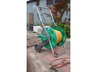 Garden Hose Reel with 25m of hose