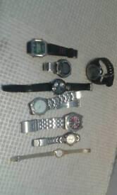Joblot of watches