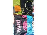 Zumba workout tops and Dvds