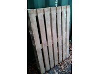 Wooden Pallets with Delivery - Used Once/Good Condition - £4 each.