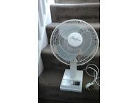 Stirflow 3 speed oscillating fan