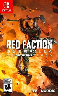 Red Faction Guerilla Re-Mars-Tered (Nintendo Switch, 2019) Brand New/Region Free for sale  Shipping to Nigeria