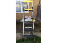 BRAND NEW Cosco World's Greatest 4 Tread Step Ladder with Extra Large Work Platform