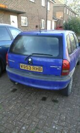 Vauxhall Corsa - Spare parts
