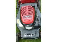 mountfield petrol self driven mower honda engine