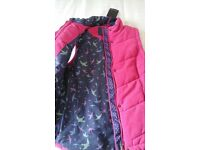 *BARGAIN* and BRAND NEW pink womens gilet from Per Una Range, M&S
