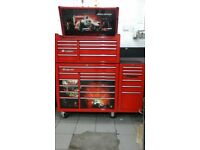 "Snap On 40"" Tool Chest and Side cabinet. Immaculate condition. Tools also available."