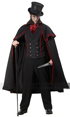 California Kostüme Jack The Ripper Mörder Erwachsene Herren Halloween Kostüm