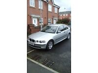 BMW 318ti compact, bargain, just £500 for a 2 owner, 10 month mot, full BMW service history