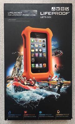 NEW Original LifeProof LifeJacket Floating Case for iPhone 5 / 5s / SE - Orange@](orange iphone 5s deals)